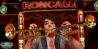 Clown im Circus Roncalli
